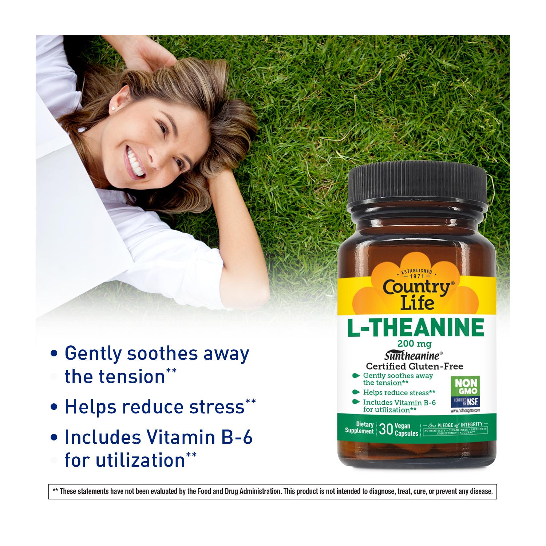 Suntheanine® L-Theanine 200 mg