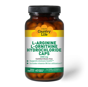 L-Arginine + L-Ornithine 1000 mg