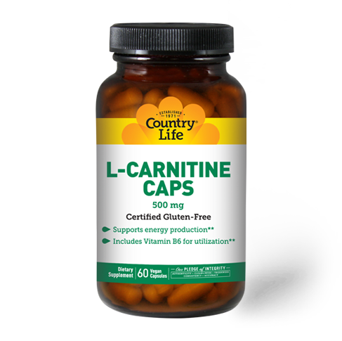 L-Carnitine Caps 500 mg