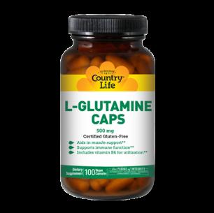 L-Glutamine Caps 500 mg