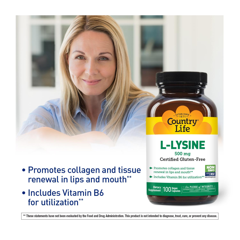 L-Lysine Capsules 500 mg