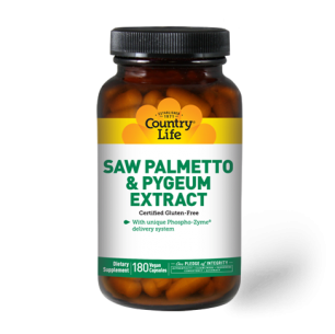 Saw Palmetto & Pygeum Extract – 180 Capsules