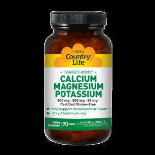 Calcium Magnesium Potassium