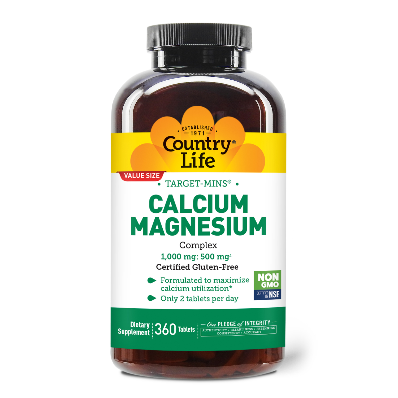 Target-Mins® Calcium Magnesium Tablets