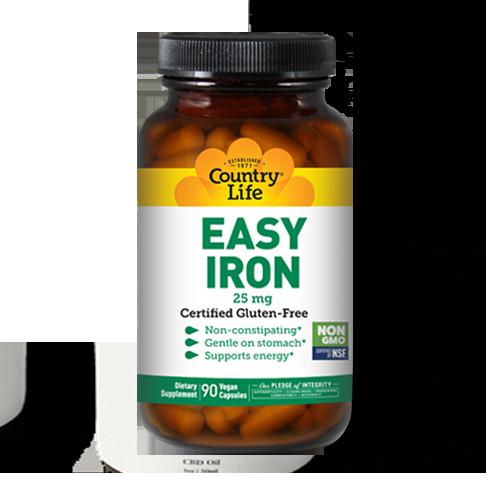 Easy Iron 25 mg (90 gentle iron capsules)