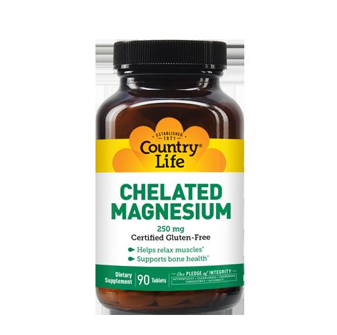 Chelated Magnesium 250 mg