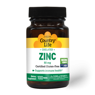 Chelated Zinc 50 mg (100 tablets)