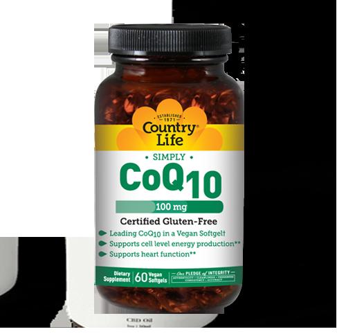 Vegan CoQ10 – 100 mg