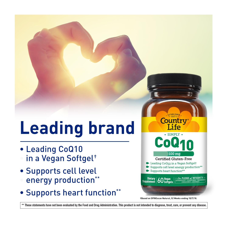 Vegan CoQ10 100 mg