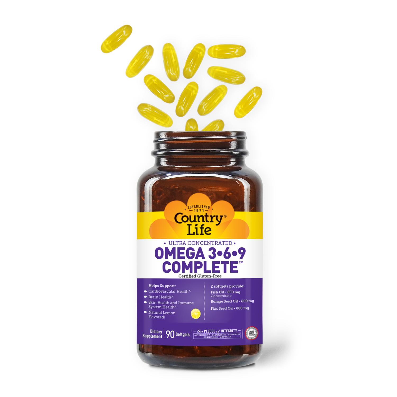 Ultra Omega 3•6•9