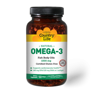 Omega-3 1000 mg Fish Oil