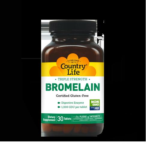 Triple Strength Bromelain