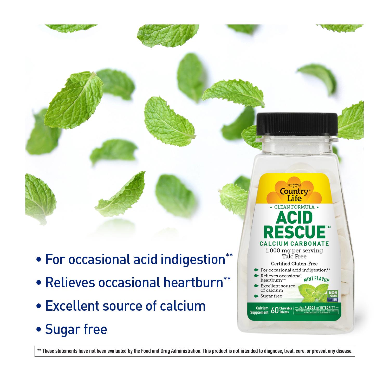 Acid Rescue™ Calcium Carbonate