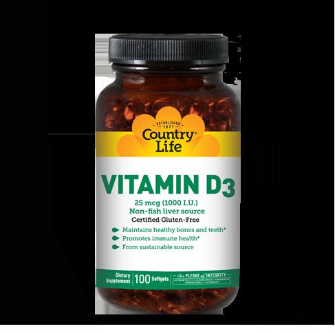 Vitamin D3 1,000 I.U.