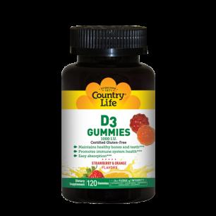 D3 Gummies – 120 Gummies