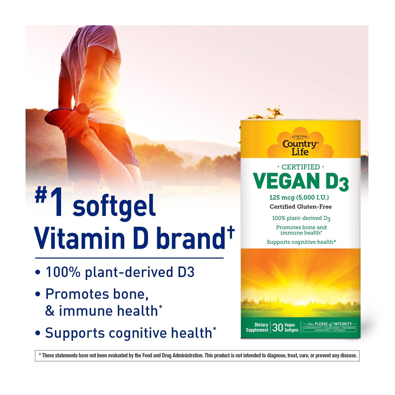 Vegan D3 Softgels