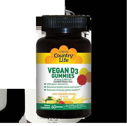 Vegan D3 Gummies