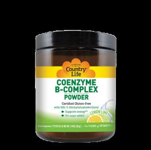 Coenzyme B-Complex Powder – Lemon Lime