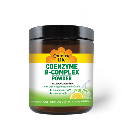 Coenzyme B-Complex Powder – Lemon Lime