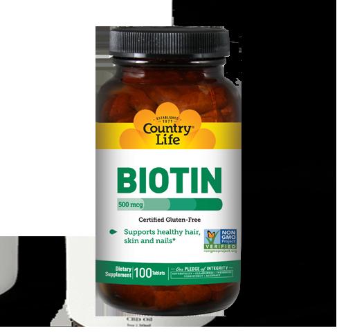 Biotin 500 mcg