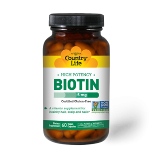 High Potency Biotin 5 mg
