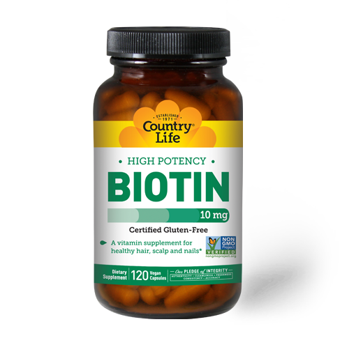 High Potency Biotin 10 mg