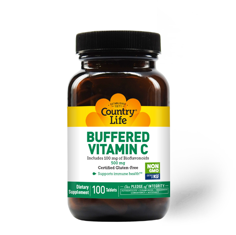 Buffered Vitamin C with Bioflavonoids 500mg