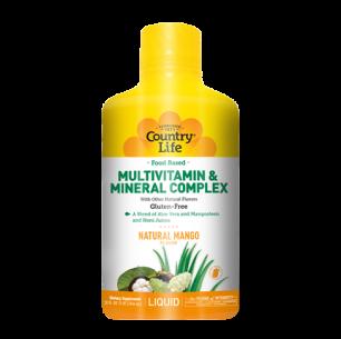 Food Based Liquid Multivitamin and Mineral Complex – 32oz Liquid