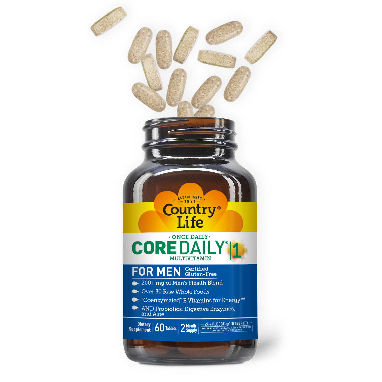 Core Daily-1® Daily Multivitamin For Men