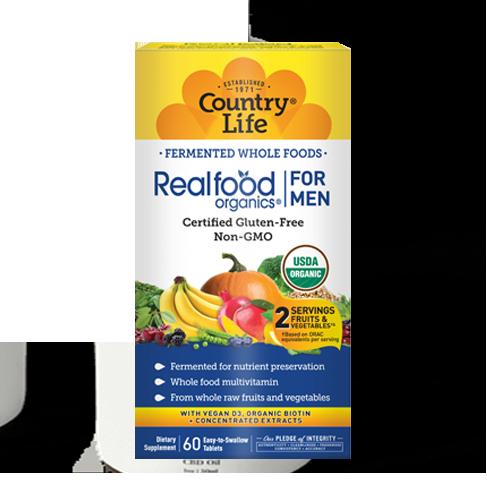 Realfood Organics® For Men