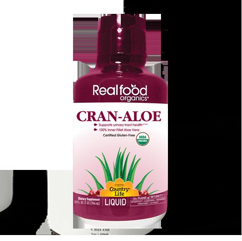 Realfood Organics® Cran-Aloe Liquid