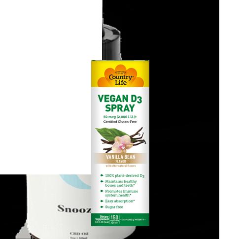 Vegan Vitamin D3 Spray