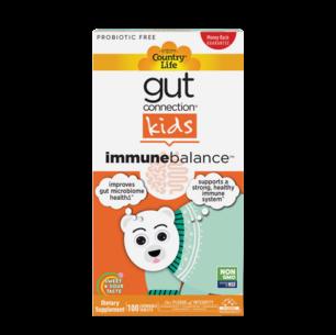 Gut Connection™ Kids Immune Balance™ – 100 Chewables