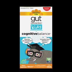 Gut Connection™ Kids Cognitive Balance™ – 100 Chewables