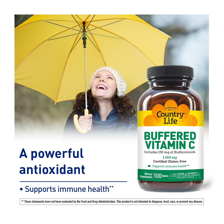 Buffered Vitamin C with Bioflavonoids 1000mg