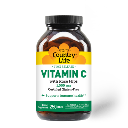 Time Release Vitamin C with Rose Hips