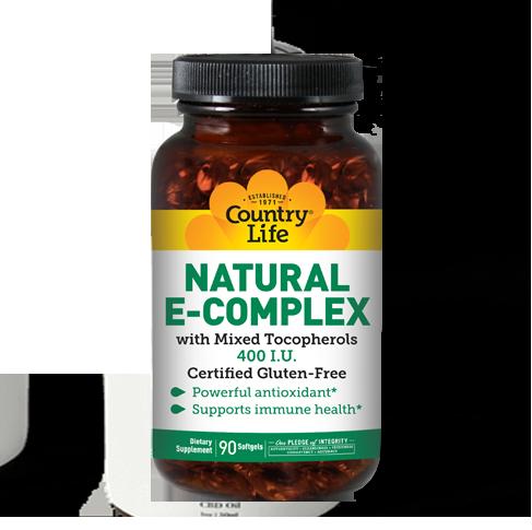 Natural E-Complex 400 I.U.