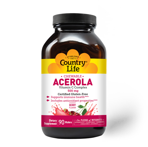 Chewable Acerola 500 mg