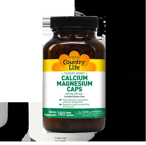 Target-Mins® Calcium Magnesium Caps