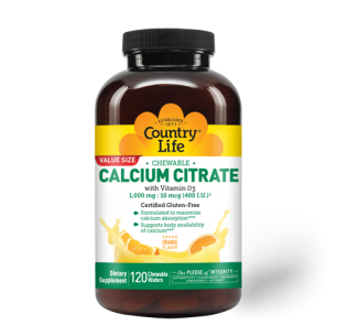 Calcium Citrate Chewable Tablets