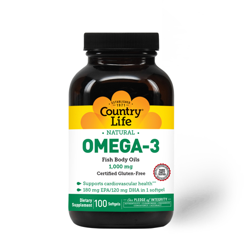 Omega-3 1000 mg Fish Oil
